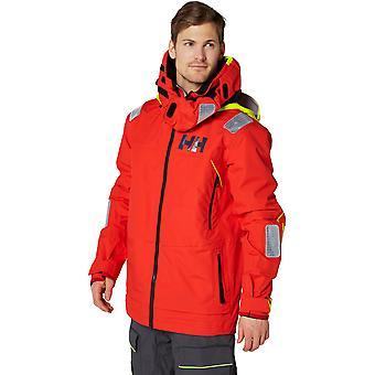 ヘリー ・ ハンセン メンズ エーギル レース ライト防水コート ジャケットをセーリング