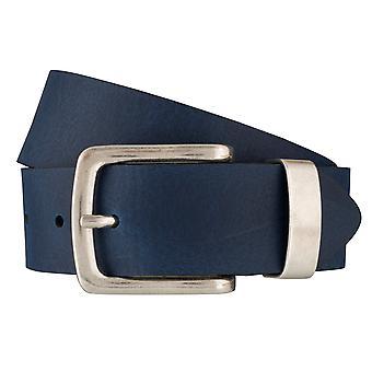 BERND GÖTZ belts men's belts leather belt blue 6380