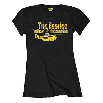 Vrouwen ' s The Beatles niets is echt zwart T-shirt