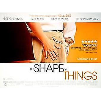 L'affiche du cinéma original De la forme des choses