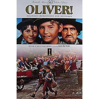 Oliver (30. vuosi päivä video) alkuperäinen video/DVD-mainos juliste
