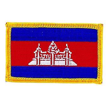 التصحيح التصحيح برودي العلم الكمبودي الكمبودي الشارة الحرارية بلاسون