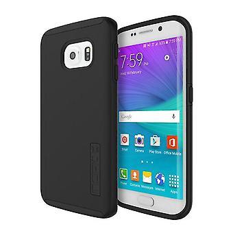 Incipio Dualpro Silicone Skin hoesje voor Samsung Galaxy S6 Edge-zwart/zwart