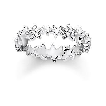 תומאס Sabo סטרלינג כסף תומאס Sabo מריו טבעת כוכבי הים להקה TR2183-051-14