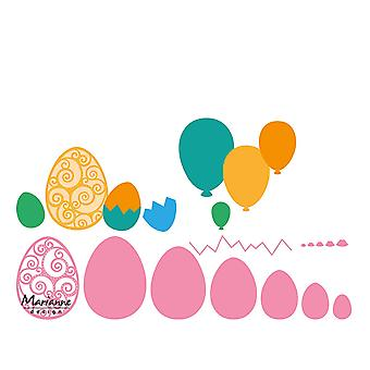 Marianne Design Collectables Easter Eggs Die, Pink