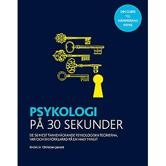 Psychology in 30 seconds 9789177837817