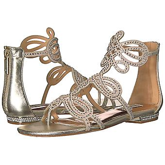 Badgley Mischka Women's Tempe Ankle-High Leather Sandal