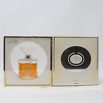Cardin De Pierre Cardin Parfum/Parfüm (Low Fill 90%) 0,5 Unzen Splash Vinatage