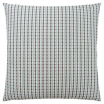 """18"""" x 18"""" Light Blue/Grey, Abstract Dot - Pillow"""