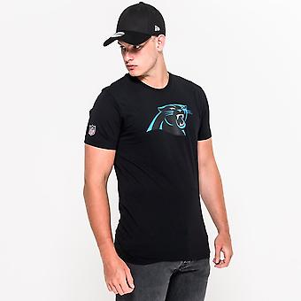 New Era NFL Carolina Panthers Team logo T-paita
