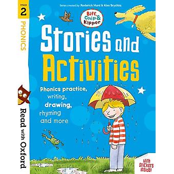 Read with Oxford Stage 2 Biff Chip and Kipper Stories an by Roderick Hunt