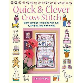 Quick  Clever Cross Stitch 8 Sampler Templates with Over 1000 PickAndMix Motifs by Philipps & Helen