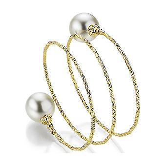 Yana Nesper - Bracelet - Ladies - WRAPme South Sea Beaded Bracelet SD88, in Yellow Gold