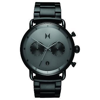 MVMT blacktop Chrono mäns klocka armbandsur rostfrittstål D-BT01-BB