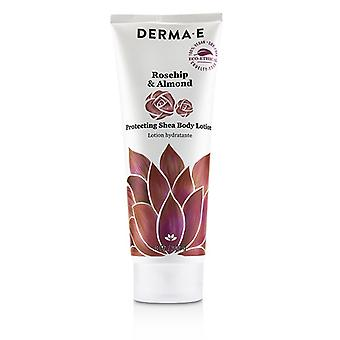 Derma E Rosehip & Almond Protecting Shea Body Lotion - 227g/8oz