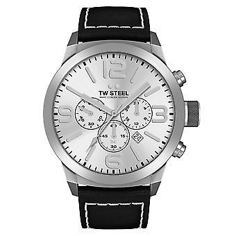 TW Steel TWMC14 Marc Coblen Black Strap Chronograph Wristwatch