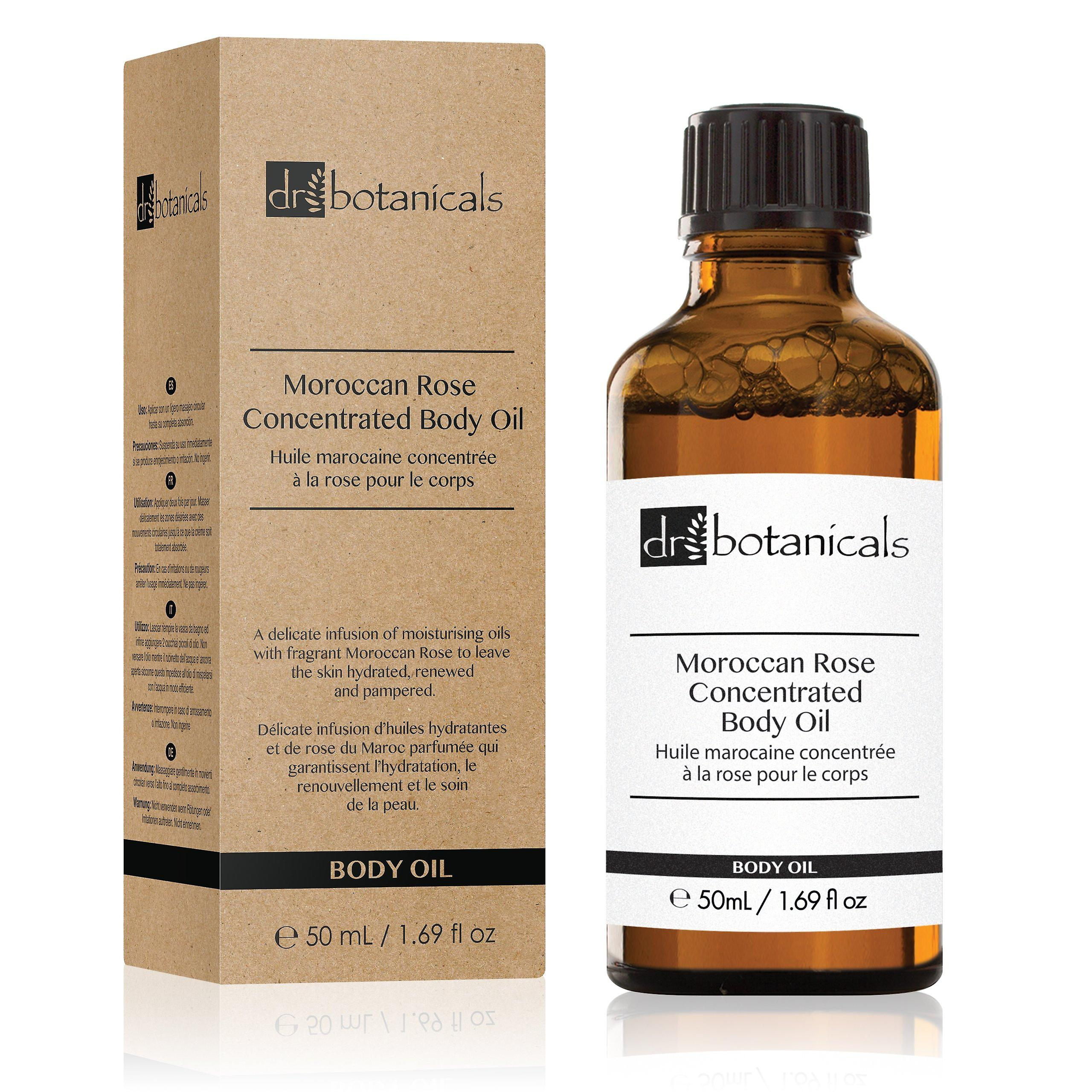 Moroccan rose concentrated body oil