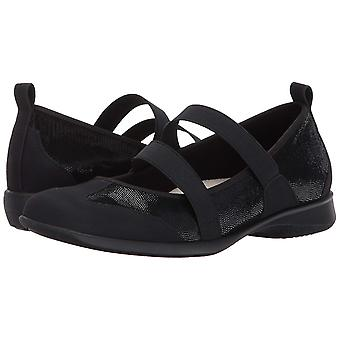 Trotters Womens Josie Leather Closed Toe Mary Jane Flats