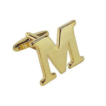 ゴールド カフリンクレターM