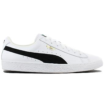 Puma Basket Classic 351912-03 Shoes White Sneakers Sports Shoes