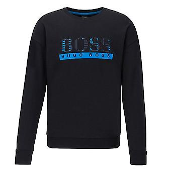 Hugo Boss Leisure Wear Hugo Boss Men's Black Authentic Sweatshirt