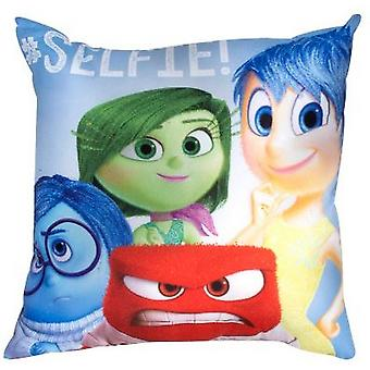 Inside Out Emotion Square Cushion