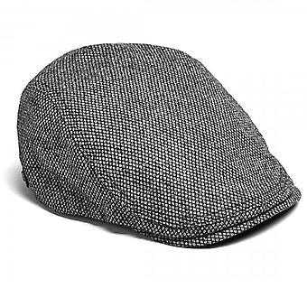 Ted Baker Hemsley Charcoal Grey Flat Cap
