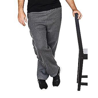 Funny Guy Mugs Retro Tearaway Sweatpants - Premium, Charcoal, Size X-Large