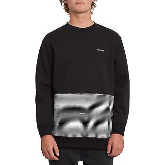 Volcom Forzee Crew Sweatshirt in Black