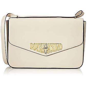 الحب موسكينو بو الأبيض حقيبة الكتف المرأة (العاج) 18x6x29 سم (W x H x L)