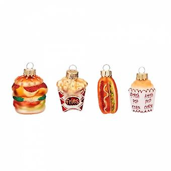 Sass and Belle Fast Food Bauble Set