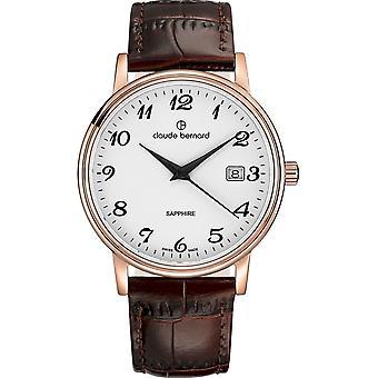 Claude Bernard - Watch - Men - Classic Gents 42mm - 53009 37R BB