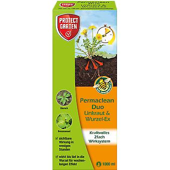 SBM Protect Garden Permaclean Duo Weed & Root-Ex, 1000 ml