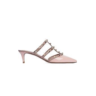Valentino Garavani Tw2s0v23vnw20l Women's Pink Leather Sandals