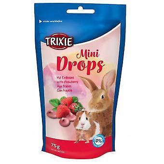 Trixie Strawberry Mini Drops (Small pets , Treats)