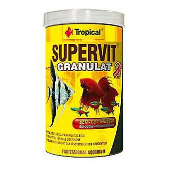 Tropical 1000 Ml Granulate Supervit (Fish , Food , Warm Water)