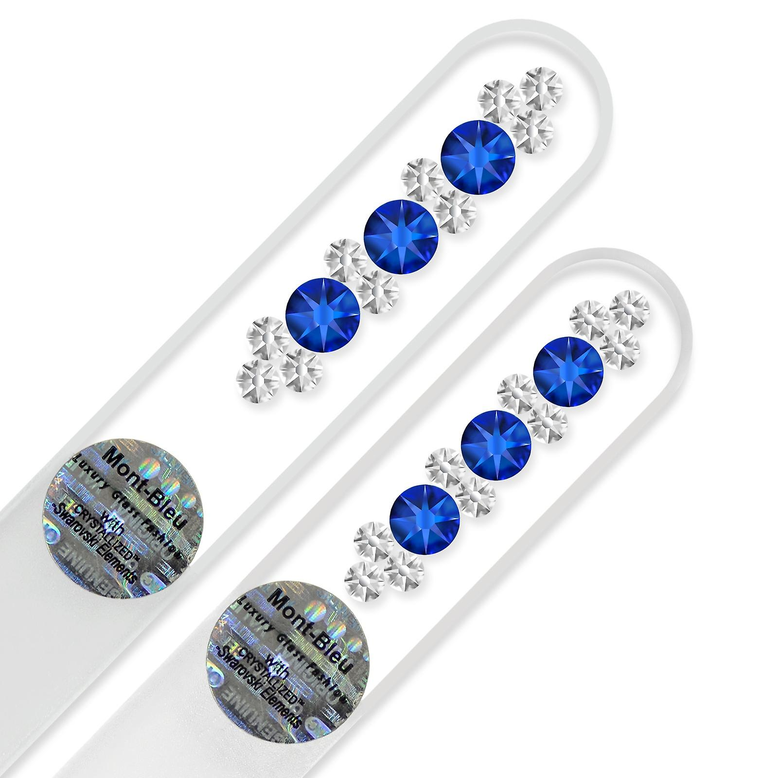 2-piece set with Hand Decorated Crystal Nail Files OR-MS
