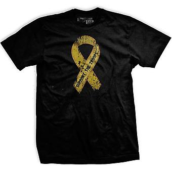 Ranger Up Civilian Support the Troops T-Shirt - Black