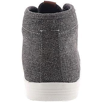 Ben Sherman Mens Fabric Hight Top Lace Up Fashion Sneakers