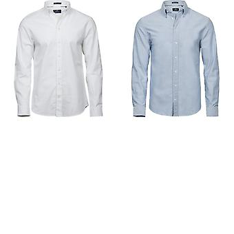 Tee Jays Mens Perfect lange mouw Oxford Shirt