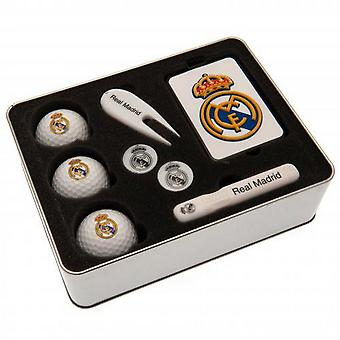 Real Madrid FC Premium Golf Lahjasetti (8 kpl)