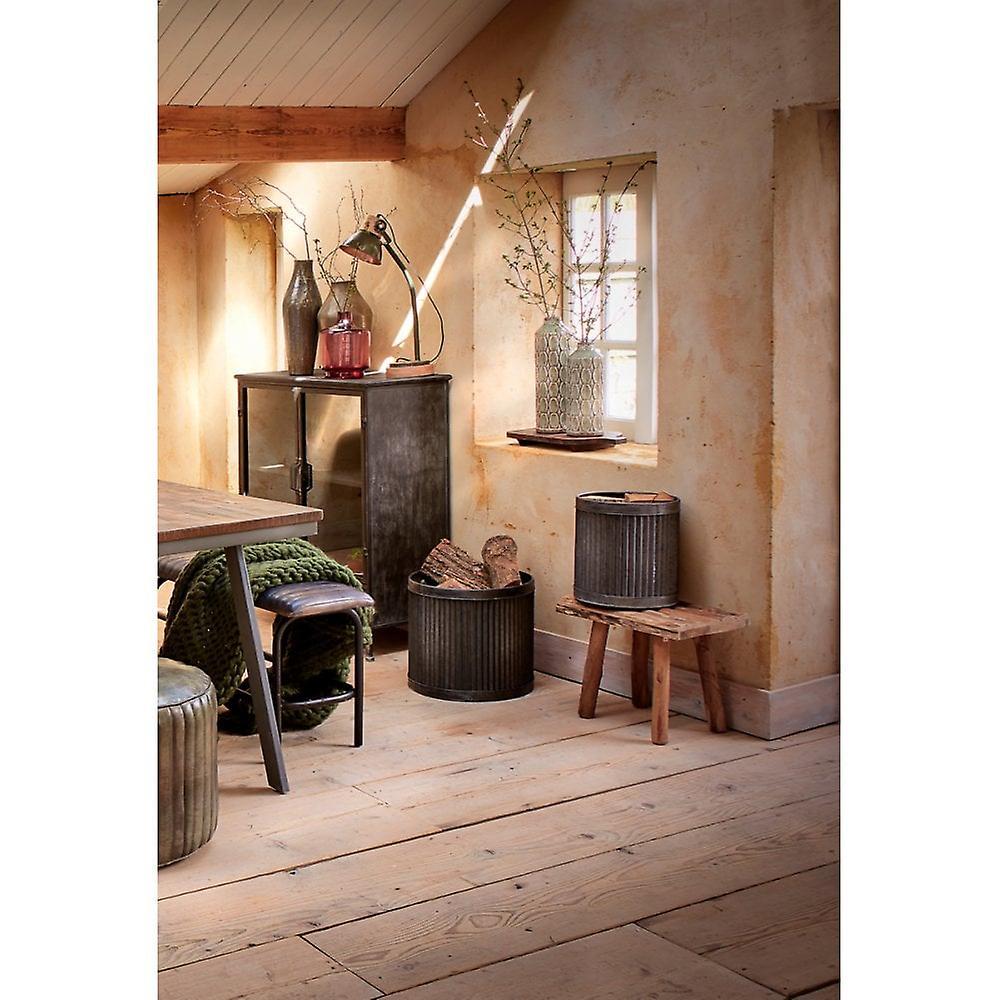 Table latérale légère et vivante 50x31x43cm Cedro Brown