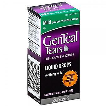 Genteal tears lubricant eye drops, soothing relief, 0.5 oz