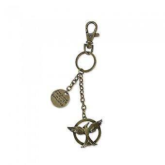 Hunger Games The Fire Burns Bag Clip Key Ring