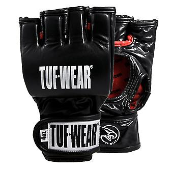Tuf Wear Pro Contest Leather Grappling Glove 4oz Black