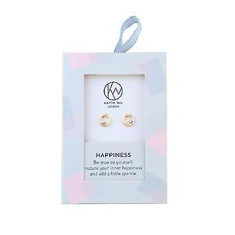 Kaytie Wu Womens/Ladies Happiness Earrings