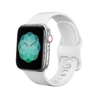 Apple Watch βραχιόλι 38/40 σιλικόνη - Λευκό