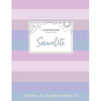 Journal de coloration adulte Sexualit Illustrations mythiques Rayures pastel by Wegner & Courtney