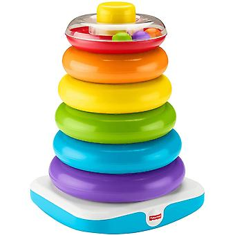 Fisher Preis GJW15 Giant Rock-a-Stack Stacking Spielzeug