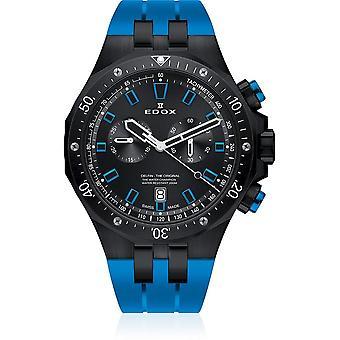 Edox - Wristwatch - Men - Dolphin - Chronograph - 10109 37NBUCA NIBU
